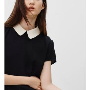 Sunday Best Patterson collared blouse